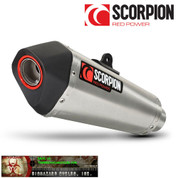SCORPION SERKET TAPER RYA94SYSSEO UNDER BODY FULL EXHAUST SYSTEM STAINLESS MUFFLER   STAINLESS HEADER / COLLECTOR & LINK/ MID PIPE  YAMAHA FZ07 FZ-07 FAZER 700 FZ 07   2015 15 16 2016