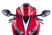 PUIG 5994R Z-RACE Z RACE WIND SCREEN WINDSCREEN RED DOUBLE BUBBLE ACRYLIC  HONDA CBR1000 CBR1000RR CBR 1000 1000 RR FIREBLADE 2012 12 2013 13 2014 14 2015 15 2016 16