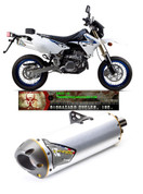 TWO BROTHERS 005-1630406V SLIP-ON EXHAUST SYSTEM  M-7 M7 STAINLESS MUFFLER   STAINLESS MID / LINK PIPE  SUZUKI DRZ400 DRZ400S DRZ400SM DRZ 400 400S 400SM