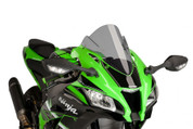PUIG 8912H LIGHT SMOKE RACE SCREEN  KAWASAKI ZX-10R ZX10R 2016 16