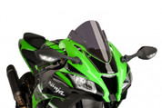 PUIG 8912F DARK SMOKE RACE SCREEN  KAWASAKI ZX-10R ZX10R 2016 16