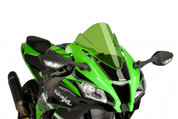 PUIG 8912V GREEN RACE SCREEN  KAWASAKI ZX-10R ZX10R 2016 16