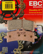 EBC FA447HH  HH SINTERED RACE BRAKE PADS FRONT SINGLE