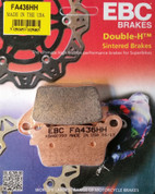 EBC FA436HH FA436 HH 436HH SINTERED RACE BRAKE PADS REAR SINGLE