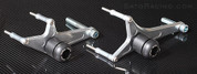 SATO RACING Y-R111FS-BK NO CUT FRAME SLIDERS 09-13 R1