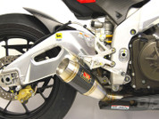 COMPETITION WERKES WA1004-CF CARBON GP SS SO  EXHAUST APRILIA RSV4