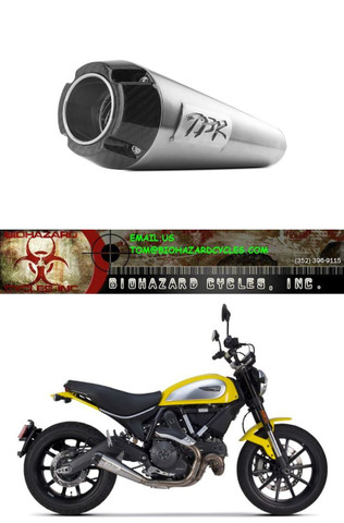 TWO BROTHERS 005-4590499 COMP SLIP-ON EXHAUST DUCATI SCRAMBLER