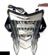 DMP 905-7739 POWERGRID CLEAR INTEGRATED TAIL LIGHT  BMW S1000RR S1000 1000 1000RR HP4 HP-4 09 10 11 12 13 14 15 16 2009 2010 2011 2012 2013 2014 2015 2016