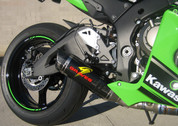 GRAVES EXK-16ZX1-FTCL FULL EXHAUST SYSTEM LOW MOUNT DIAMOND CARBON FIBER CF MUFFLER & STRAP  TITANIUM TI  HEADER /COLLECTOR &  LINK / MID PIPE DELETE CAT CATALYZER ELIMINATOR  KAWASAKI ZX10R ZX-10R ZX10 ZX-10 ZX 10 10R 1000   2016 16 17 2017