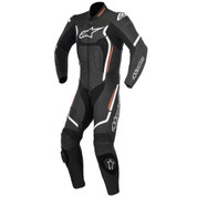 ALPINESTARS LEATHER RACE SUIT MOTEGI V2 1 PC  3151017-1231-54 BLACK WHITE RED