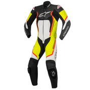 ALPINESTARS LEATHER RACE SUIT MOTEGI V2 1 PC  3151017-1253-54 YELLOW