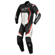 ALPINESTARS LEATHER RACE SUIT MOTEGI V2 1 PC  3151017-132-54 BLACK RED WHITE