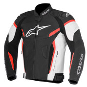 ALPINESTARS 3100617-123 GP PLUS R V2 AIRFLOW LEATHER JACKET   Black/White/Red