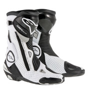 ALPINESTARS SMX PLUS BOOT 2221015-122 BLACK WHITE