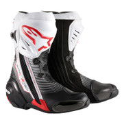 ALPINESTARS SUPERTECH R BOOT 2220015-1322  Black/White/Red
