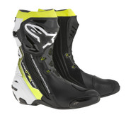 ALPINESTARS SUPERTECH R BOOT 2220015-126 Black/White/YELLOW