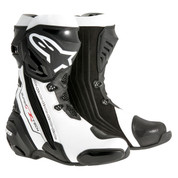ALPINESTARS SUPERTECH R BOOT  2220015-122 BLACK WHITE