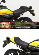 CORBIN Y-XSR-9-G GUNFIGHTER SEAT / SADDLE XSR900 CUSTOM DESIGNS