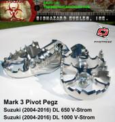 PIVOT PEGS PP-62MK3 VSTROM 650 1000 DL1000 DL650