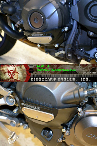 WOODCRAFT CASE SAVER KIT BOTH LEFT & RIGHT 60-0409 FZ09 MT09 14-17  60-0409RC &  60-0409LC STATOR AND CLUTCH COVERS