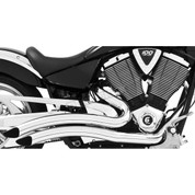 FREEDOM PERFORMANCE MV00011  Chrome Sharp Curve Radius Exhaust System