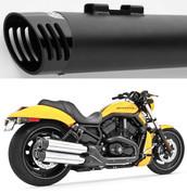 FREEDOM PERFORMANCE HD00342  Racing 4″ Slip-Ons BLACK / BLACK VROD 11-16