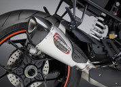 YOSHIMURA 16290BP520 ALPHA SS / CF SLIP-ON EXHAUST KTM 1290 SUPER DUKE R 2014-17