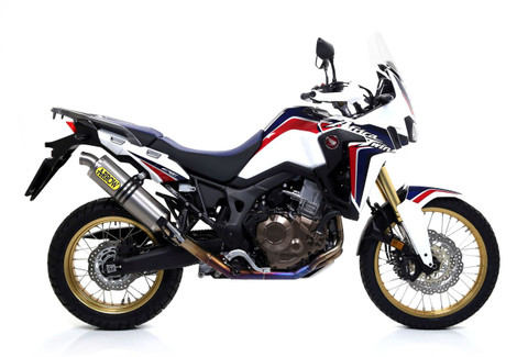 ARROW 72021PO TITANIUM RACING FULL Exhaust SYSTEM  Honda Africa Twin CRF1000L  2016 2017 2018 16 17 18
