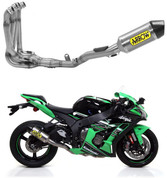 ARROW   71154CKZ COMPETITION FULL SYSTEM  KAWASAKI ZX10R ZX-10R ZX10 ZX-10 ZX 10 10R 1000   2016 16 17 2017 18 2018