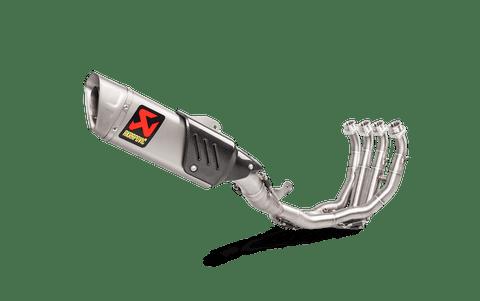 AKRAPOVIC S-Y6E9-APT EVOLUTION TITANIUM FULL EXHAUST SYSTEM YZF-R6 R6 17-18