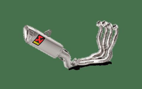 AKRAPOVIC S-S10R11-APLT RACE FULL EXHAUST SYSTEM  TITANIUM MUFFLER STAINLESS HEADER / COLLECTOR  SUZUKI GSXR1000 GSX-R1000 GSXR-1000 GSXR 1000   17 18 2017 2018