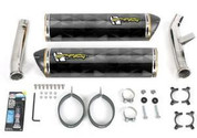 TWO BROTHERS CF DUAL EXHAUST FJR1300 FJR 1300 09 08 07 06 YAMAHA M2 CARBON FIBER SLIP ON 2008 2009 005-1560407DM