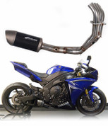 GRAVES GMS EXY-09R1-FSCL LOW MOUNT CF CARBON FULL EXHAUST YZF-R1 R1 09-13