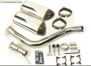 TWO BROTHERS  005-650406V  DUAL AL EXHAUST VFR800 02-09