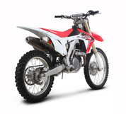 AKRAPOVIC S-H4SO6-QTA DUAL SLIP ON TITANIUM TI CRF450R 13-14