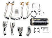 TWO BROTHERS CF FULL EXHAUST GSXR1000 07 08 2007 2008 SUZUKI GSX-R1000 M2 CARBON FIBER FULL SYSTEM 005-1780107V
