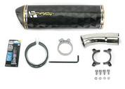 TWO BROTHERS 005-1010407V CARBON M2 CF EXHAUST SV650 SV 650