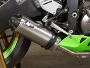 M4 KA6996 TITANIUM STREET SLAYER FULL EXHAUST ZX6R 636 13