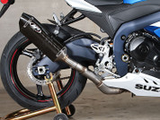 M4 SU9198 CARBON SLIP ON SO EXHAUST GSXR1000 12-13