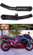 VOODOO VEZX14L2B DUAL BLACK GP SIDE EXHAUST EXHAUST ZX14 12-17