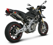 AKRAPOVIC S-A7SO2-HDT TITANIUM TI SLIP ON SO EXHAUST APRILIA DORSODURO 08-13