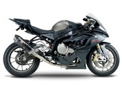 YOSHIMURA 1520100220 COMPLETE FULL EXHAUST SYSTEM R-77 R77 CARBON FIBER MUFFLER W CF END CAP STAINLESS SS HEADER / COLLECTOR & MID / LINK PIPE BMW S1000 S1000RR 1000 1000RR  12 13 14 2012 2013 2014