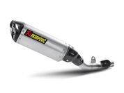 AKRAPOVIC S-K8SO2-HRT SLIP-ON LINE  TITANIUM TI MUFFLER W CARBON CF END CAP  Z800 Z8 Kawasaki  2013 2014 2015 2016 13 14 15 16