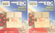 EBC HH BRAKE PADS FA417/4HH FRONT 2 SETS