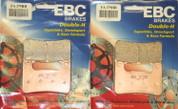 EBC HH BRAKE PADS FA379HH FRONT 2 SETS