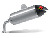 AKRAPOVIC S-Y12SO1-HAAT SLIP-ON LINE EXHAUST TITANIUM MUFFLER W CARBON END CAP  XT1200Z Yamaha SUPER TENERE 10 11 12 13 14 15 16 2010 2011 2012 2013 2014 2015 2016
