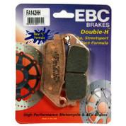 EBC HH BRAKE PADS FA142HH FRONT  NON ABS