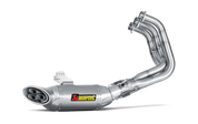 AKRAPOVIC S-Y9R3-HAFT RACING LINE FULL EXHAUST SYSTEM   STAINLESS STEEL SS HEADER TITANIUM TI MUFFLER  YAMAHA MT-09 MT09 FZ09 FZ-09 FZ MT 09   14 2014 15 2015 16 2016