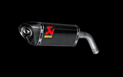 AKRAPOVIC CARBON FIBER CF SLIP ON SO EXHAUST SYSTEM MUFFLER  S-H125SO1-HAPC MSX 125 Grom Honda -