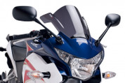 PUIG 5643F RACING WIND SCREEN WINDSCREEN DARK SMOKE CBR250R 11-12